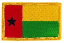 Patch écusson brodé Drapeau Guinée Bissau bissao Thermocollant Insigne Blason