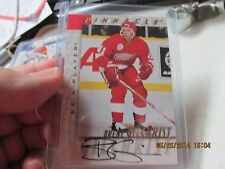 1998 Pinnacle Be a Player  BRENT GILCHRIST  Autographed Card Hockey