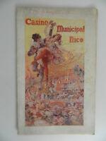 Programa Casino Municipal Niza Febrero 1921
