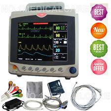 "8"" ICU Vital Signs Patient Monitor,ECG+NIBP+SPO2+PR+RESP+TEMP, CMS6000C"
