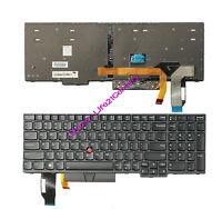 New for lenovo IBM Thinkpad E580 E585 E590 E595 laptop US keyboard backlit