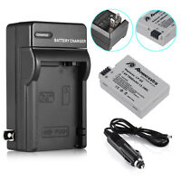 LP-E8 Battery & Charger For Canon Rebel T5i T4i T3i T2i X5 EOS 550D DSLR Camera