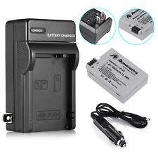 LP-E8 Battery & Charger For Canon Rebel T5i T4i T3i T2i X5 EOS 550D DSLR Camera