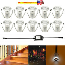 19MM Low Voltage Outdoor Garden Stair Step Landscape LED Deck Light Garden Lamp