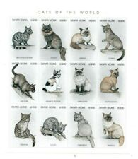 VINTAGE CLASSICS - Sierra Leone Cats Of The World - Sheet Of 12 - MNH