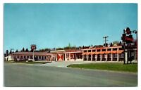 1950s/60s Flamette Motel and Phillips 66, Duluth, MN Postcard