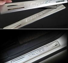 Chevrolet Chevy Cruze Stainless Steel Scuff Plate Door Sill Hatchback 2009-2013