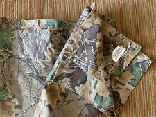 Realtree Advantage Cotton Fabric Shower Curtain - Excellent Condition!