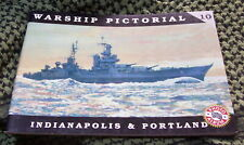 USS INDIANAPOLIS CA-35 USS PORTLAND CA-33 WARSHIP PICTORIAL #10 CLASSIC WARSHIPS