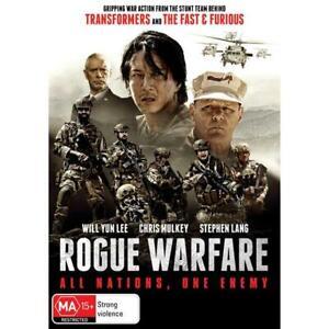 Rogue Warfare (Dvd,2021) *NEW* Region 4