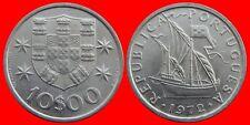 10 ESCUDOS 1972 SIN CIRCULAR PORTUGAL-0227SC