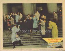 THE SOLID GOLD CADILLAC, original 1956 Lobby Card, Judy HOLLIDAY & Paul DOUGLAS