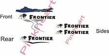 Frontier Decals RV sticker decal graphics trailer camper buffalo 5th wheel K-Z
