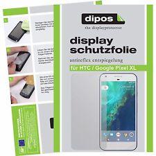 2x Google Pixel XL Schutzfolie matt Displayschutzfolie Folie dipos Displayfolie