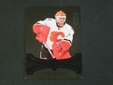 2016-17 UD Ultimate Collection Onyx BLACK Brian Elliott Calgary Flames / 10