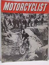Vintage Motorcyclist Magazine March 1965 Enduro Motocross Motorcycle