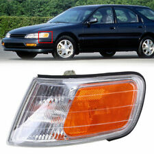 For 94-97 Honda Accord Corner Front Park Side Marker Light Lamp Left Side Lens