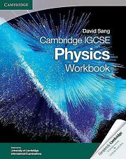 Cambridge IGCSE Physics Workbook (Cambridge International Examinations), Sang, D