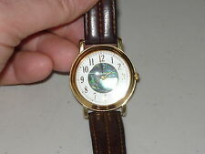 Retro 1992 GUESS Original ABLONE SHELL Unisex Watch NEW BATTERY