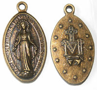 Virgin Mary Mother of Jesus Christ - large Christian pendant