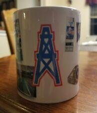 Vintage 1991 AFC Central Champs Houston Oilers Ceramic Beer Mug