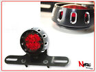 FARO POSTERIORE OLD STYLE 3 REAR LIGHT UNIVERSALE CAFE RACER CUSTOM VINTAGE