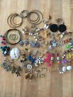 Misc. Lot Of Womens Earrings (See Photos & Discription)