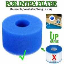 3 pièces filtre mousse réutilisable lavable pour Intex S1 Type spa intex