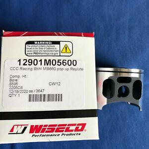 New OEM CCC Racing by Wiseco Stihl MS660 066 Big Bore Pop Up Piston made in USA