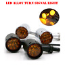 4x Black LED Motorcycle Turn Signal indicator Light Harley Ultra Tour Glide clas