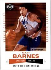 2002/2003 Generations (Upper Deck) Basketball