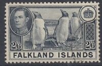 FALKLAND ISLANDS:1937 2/6d slate SG 160 fine used