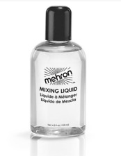 Mehron Mixing Liquid With Fixative Makeup 4.5oz FX Liquid, Clear