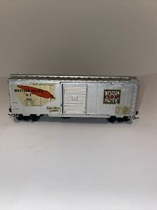 """HObby Line  WP Western Pacific """"Feather"""" Single Door Box Car #1953 Ho Scale"""