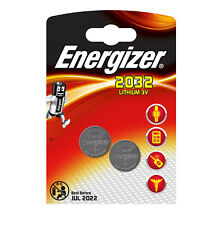GENUINE ENERGIZER 2X CR2032 3V LITHIUM COIN CELL BATTERY 2032, DL2032, BR2032