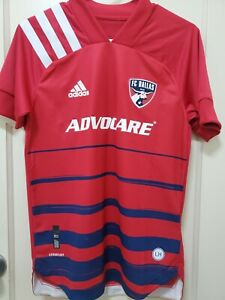 NEW Adidas FC Dallas Authentic MLS Soccer Jersey Adult X-Small (NWT)