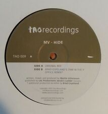 "MV  ""Hide""  * TAO 009 / Original + Brad Copeland`s 7AM In Time Office Remix"