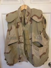 Military Army Flak Jacket Vest Cover Desert Camouflage