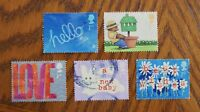 Complete British used stamp set - 2002 Greetings Occasions series