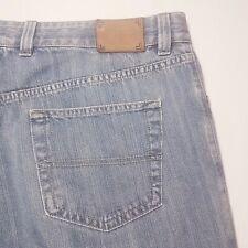 Men's Ermenegildo Zegna Blue Cotton Jeans Made in Italy Size 38 x 31