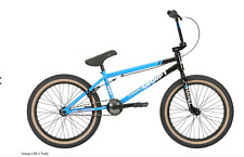 "2019 HARO GROUP 1 RS-1 TRAILS BLACK/BLUE 21 COMPLETE BMX BIKE 21"" RETRO RS 1 one"