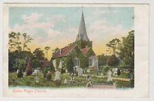 Buckinghamshire postcard - Stoke Poges Church (Peacock No. 422)