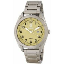 Men's Timberland Stainless Steel Date Display 45mm Watch Tbl13330xs07m