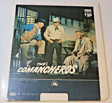 The Comancheros 20th Century Fox 1961 John Wayne Ced Vídeo Discos Videodisc