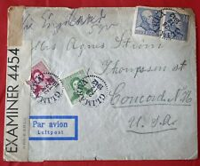 Mayfairstamps Sweden 1942 Glimakra to Us Censored Airmail Cover wwe85959