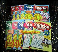 10 neue SUDOKU Rätselhefte * 752 Rätsel + KUGELSCHREIBER zum kleinen Preis :)