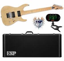 ESP LTD M-1000 SE Vintage Natural Satin VNS NEW M1000 FREE HARD CASE +TUNER