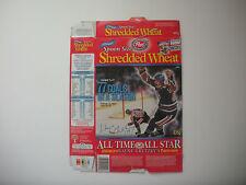 Post Spoon Size Shredded Wheat WAYNE GRETZKY Cereal Box, English/French (Flat)