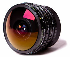 Peleng EF 8 mm F/3.5 II Lens For NIKON.  Fisheye Super wide Lens