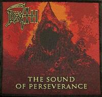 DEATH AUFNÄHER PATCH # 10 THE SOUND OF PERSEVERANCE 10x10cm FLICKEN ABZEICHEN